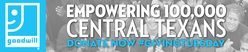 Empowering 100,000 Central Texans Donate Now #givingtuesday