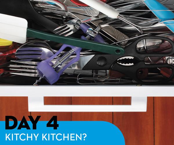 Day 4: Kitchy Kitchen?