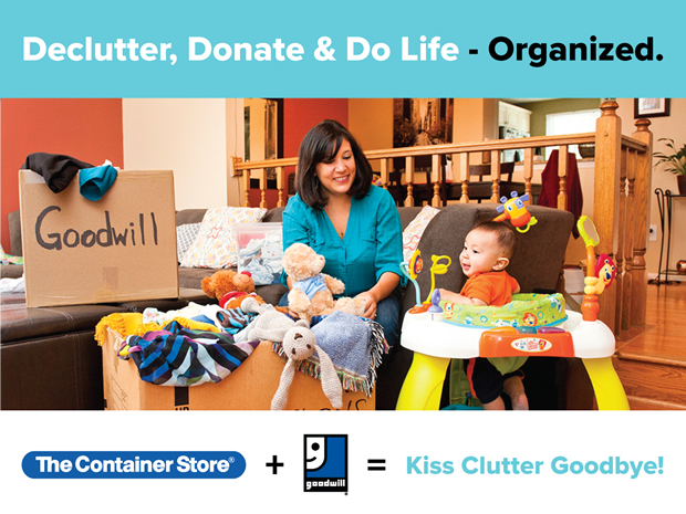 Declutter, Donate and do Life Organized!
