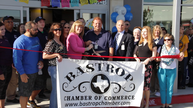 BASTROP GRAND OPENING RIBBON CUTTING