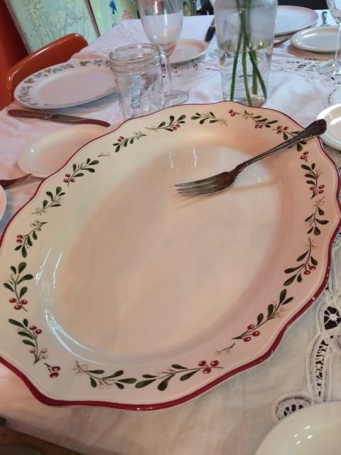 large china platter