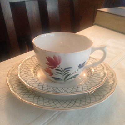 teacup and saucer before picture