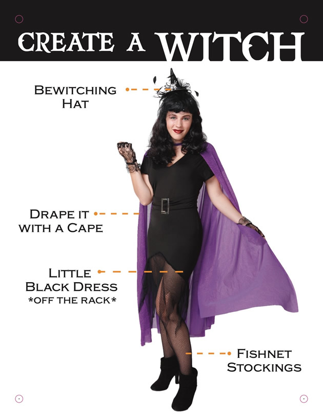 Create a Witch  sc 1 st  Goodwill of Central Texas : make your halloween costume  - Germanpascual.Com