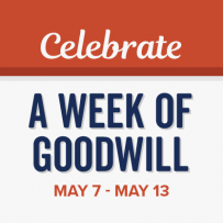 Celebrate A Week of Goodwill