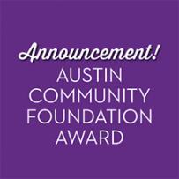 Austin Community Foundation Award