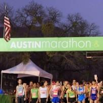 Austin marathon 2014 start