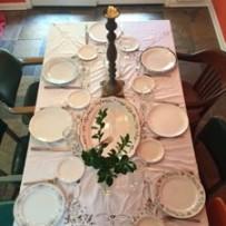 Thanksgiving full table