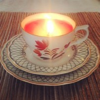 Teacup Candle