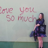 love you so much mural