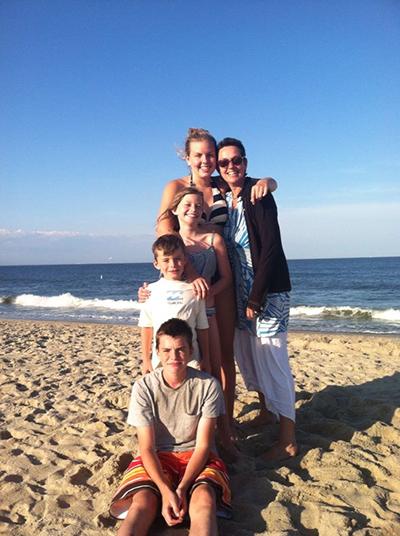 Bernadette and family