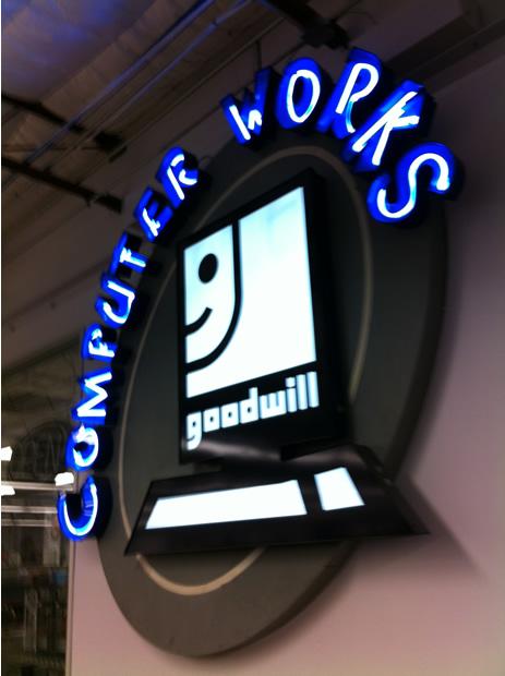 Computer Works Sign