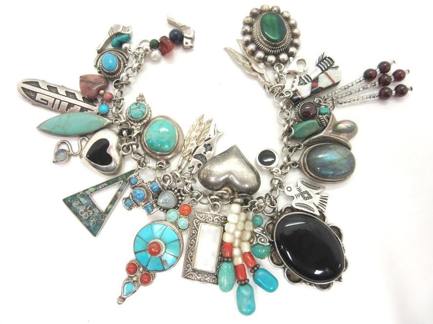 DIY torquoise bracelet