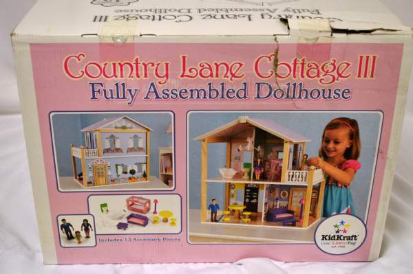 dollhouse box