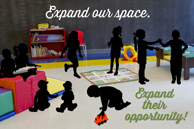 Expand our space.  Expand their opportunity.