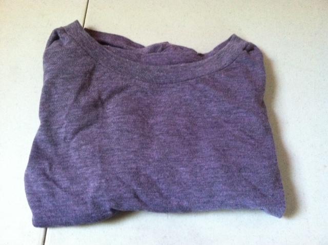 solid purple shirt