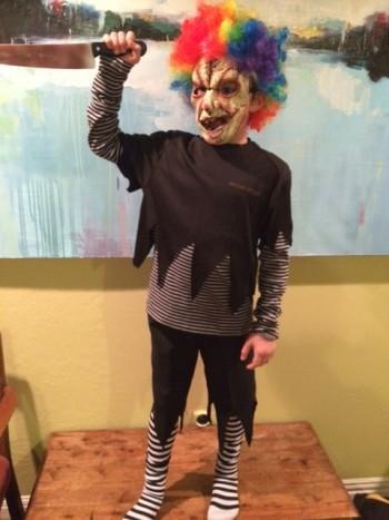 child in final costume