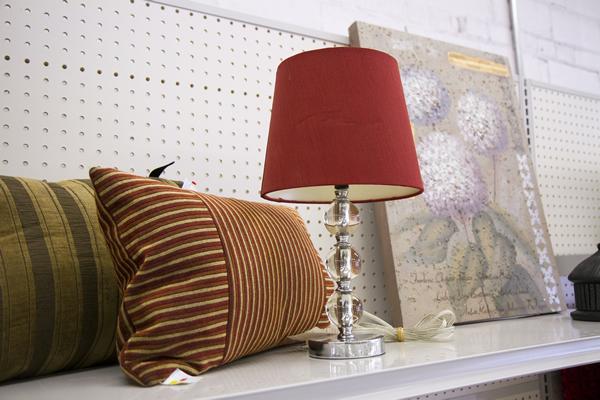 lamps, pillows