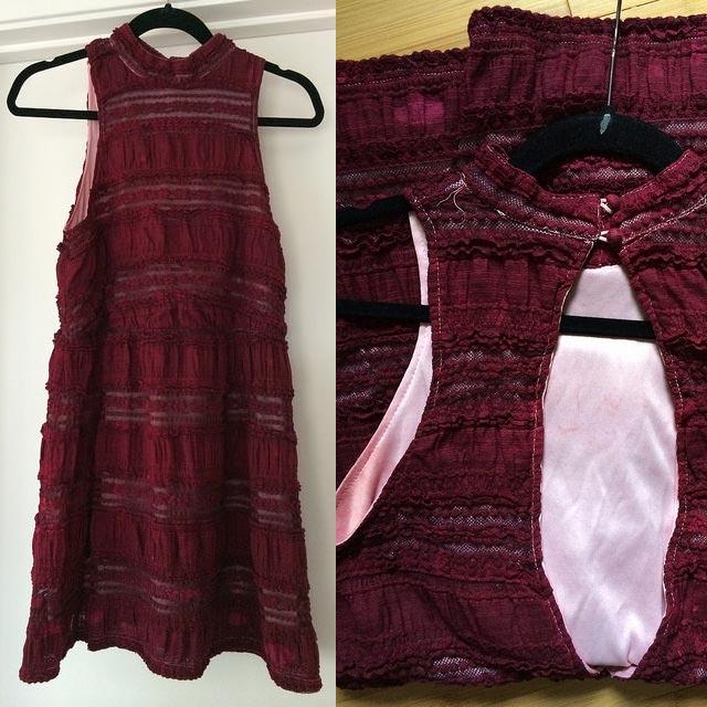 Rit dye white dress