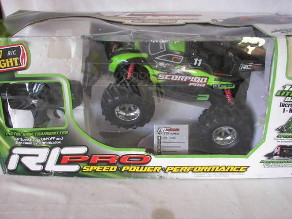 remote control car in box