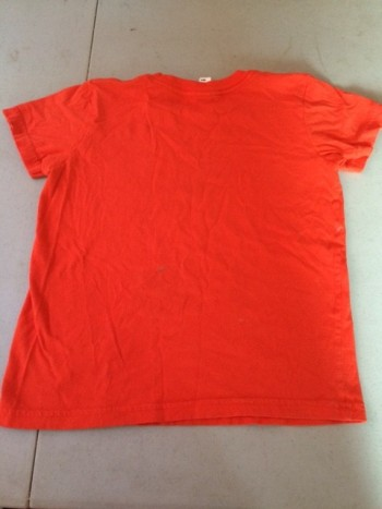 plain orange tshirt
