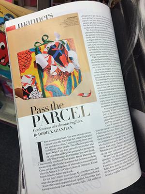Vogue Magazine Article