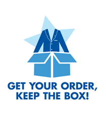 Get your order, keep the box!