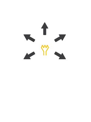 Efficient: More donations.  More sales.  Less expences.