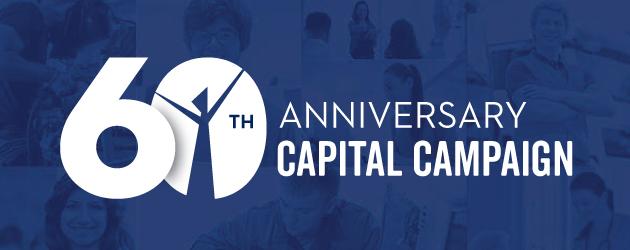 60th anniversary capital campaign